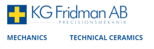 KG Fridman Scandinavian distributor for Nanoker