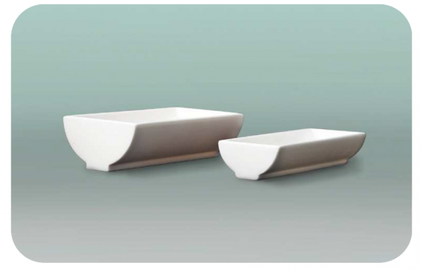curved dish for laboratory